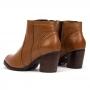 Bota Sapato Da Corte Salto Bloco Médio