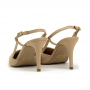 Chanel Sapato Da Corte Matelassê Salto Médio