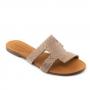 Chinelo Sapato Da Corte H Estilizado