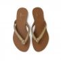 Chinelo Sapato Da Corte Miçangas Nó
