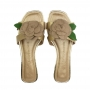 Chinelo Sapato Da Corte Tira Flor