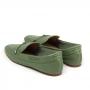 Loafer Sapato Da Corte Liso Nozinho