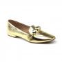 Mocassim Sapato Da Corte Bico Quadrado