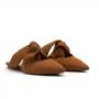 Mule Flat Sapato Da Corte Nozão