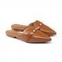 Mule Sapato Da Corte Bico Fino