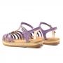 Sandália Flat Sapato Da Corte Corda Spikes