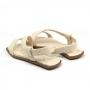 Sandália Rasteira Sapato Da Corte Tira Larga Transversal