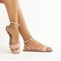 Sandália Rasteira Sapato Da Corte Vira Trança Comfy