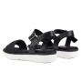 Sandália Sapato Da Corte Confort Flat Form Neo