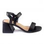 Sandália Sapato Da Corte Elástico