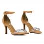 Sandalia Sapato Da Corte Gisele Vinil