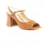 Sandália Sapato Da Corte Peep Chanel