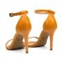 Sandália Sapato Da Corte Salto Alto Bico Fino Tradicional
