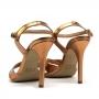 Sandália Sapato Da Corte Salto Alto Em X