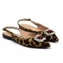 Sapatilha Sapato Da Corte Bico Fino Chanel Pedra Gigante