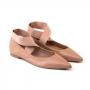 Sapatilha Sapato Da Corte Bico Fino E Elástico