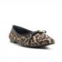 Sapatilha Sapato Da Corte Bico Fino Laço