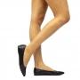 Sapatilha Sapato Da Corte Bico Fino Vazada Tela