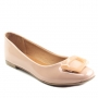 Sapatilha Sapato Da Corte Bico Quadrado