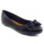 Sapatilha Sapato Da Corte Bico Redondo Laço
