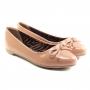 Sapatilha Sapato Da Corte Bico Redondo Laço Comfort