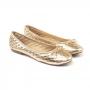 Sapatilha Sapato Da Corte Bico Redondo Metalasse