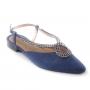 Sapatilha Sapato Da Corte Pedras Chanel