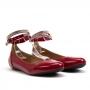 Sapatilha Sapato Da Corte Pulseira Strass