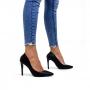 Scarpin Sapato Da Corte Bico Fino Salto Fino Alto