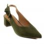 Scarpin Sapato Da Corte Chanel Salto Bloco Baixo