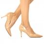 Scarpin Sapato Da Corte Médio Tradicional