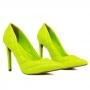 Scarpin Sapato Da Corte Salto Altíssimo Fino