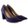 Scarpin Sapato Da Corte Salto Bloco