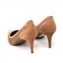 Scarpin Sapato Da Corte Salto Fino Médio Tela