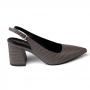 Scarpin Sapato Da Corte Salto Médio Chanel Bico Fino