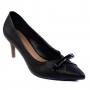 Scarpin Sapato Da Corte Salto Médio Fino Bico Fino