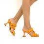 Tamanco Sapato Da Corte Salto Taça Comfy