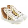 Tênis Botinha Sapato Da Corte