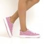 Tênis Sapato Da Corte Lona Pesponto