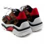 Tênis Sapato Da Corte Sola Alta Onça