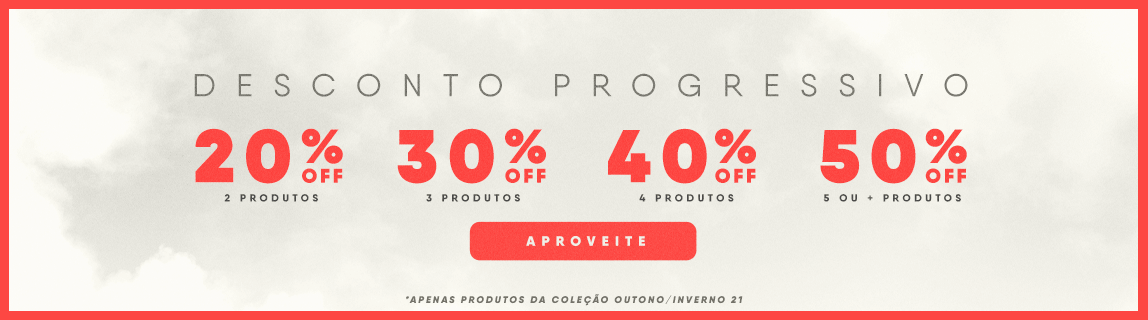 Desconto Progressivo - 2 Produtos com 20% OFF