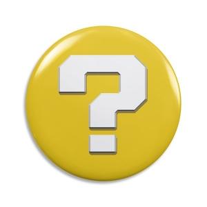 Abridor de Garrafa Bloco de Interrogação - Super Mario Bros
