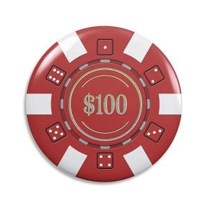 Abridor de Garrafa Ficha de Poker