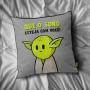 Almofada Mestre Yoda Que o Sono Esteja Com Você- Star Wars