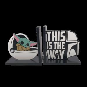 Aparador de Livros Cápsula Baby Yoda - Star Wars