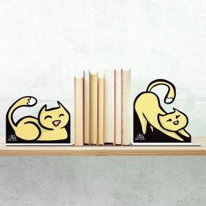 Aparador de Livros Gatos 01