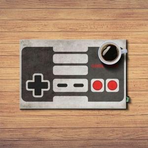 Jogo Americano Joystick Nintendo - 2 Peças