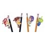 Kit 4 Agarradinhos Woody, Buzz, Jessie e Space Alien - Toy Story