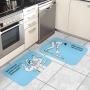 Kit Tapetes de Cozinha Não Preciso Lavar Louça