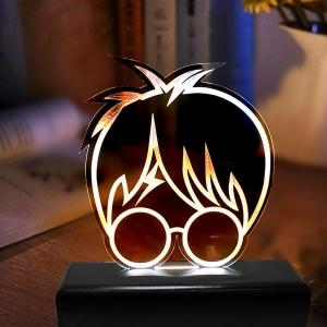 Luminária em Acrílico Harry Potter